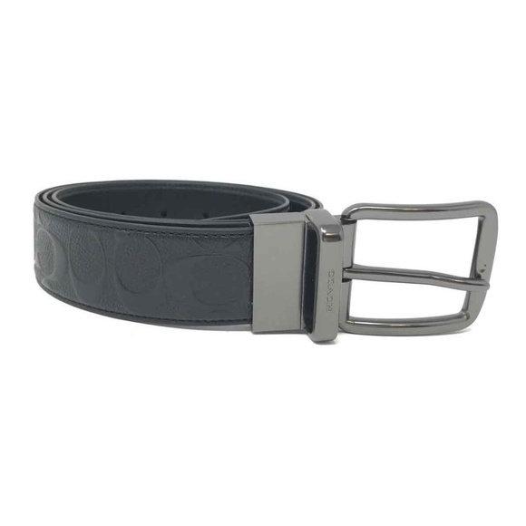 a52dfee3a244e Coach Wide Harness Cut To Size Reversible Belt
